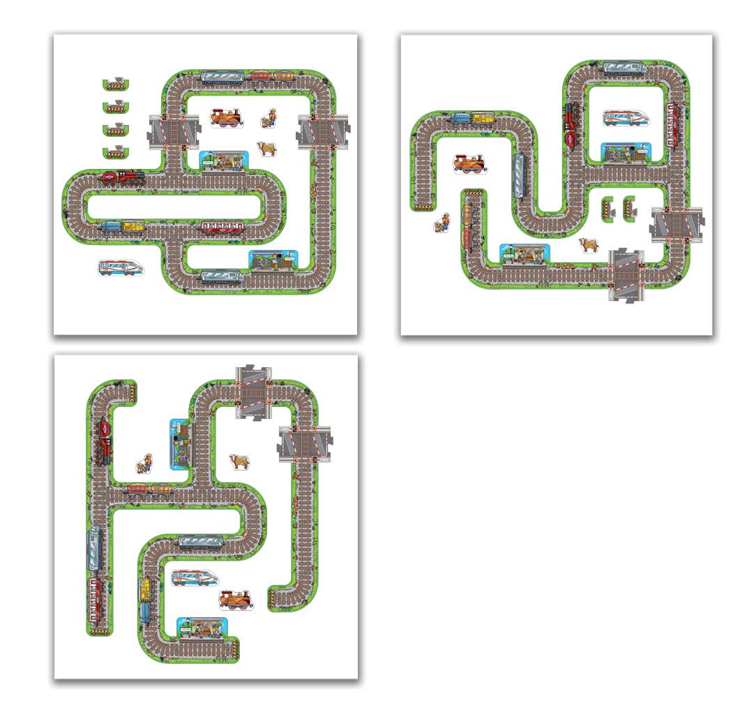 ジャイアントレールパズル