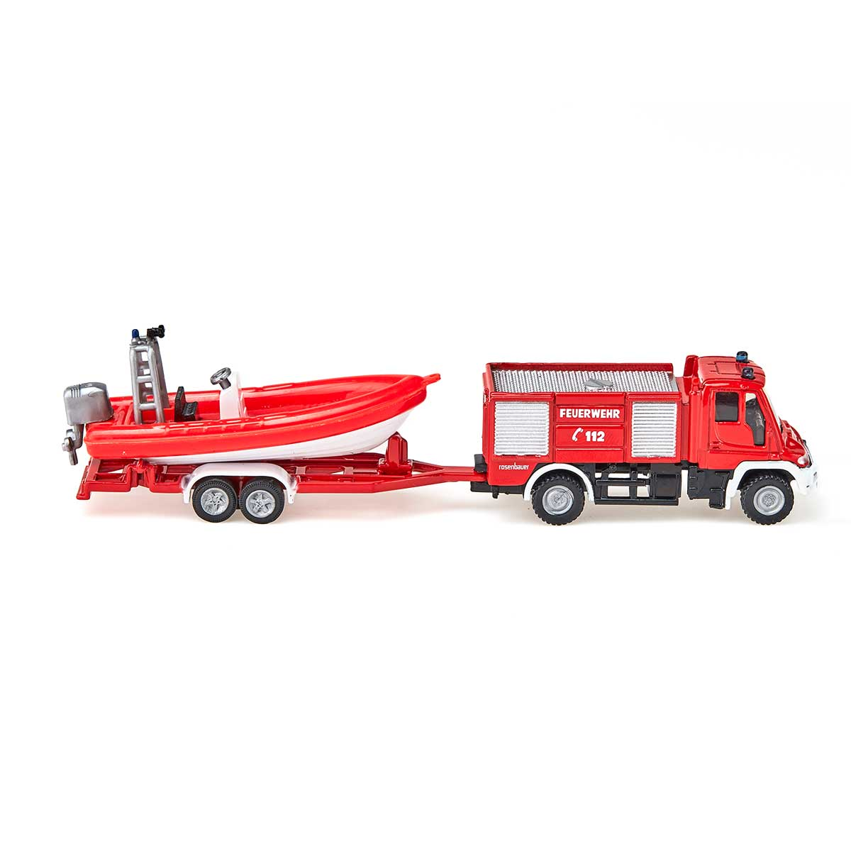 ウニモグ 消防車 ボート付き(ジク・SIKU)