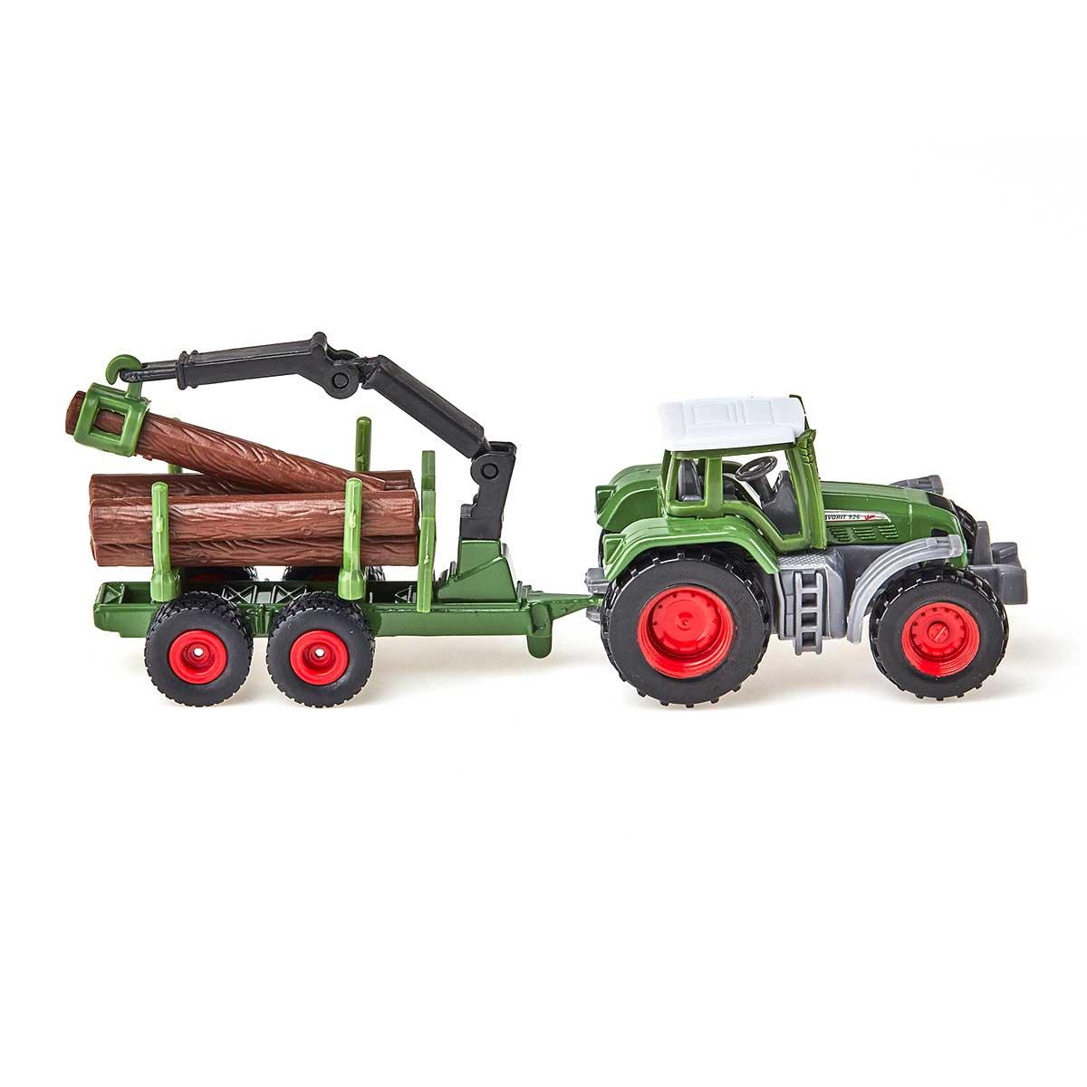 Fendt トラクター 木材運搬トレーラー付き(ジク・SIKU)
