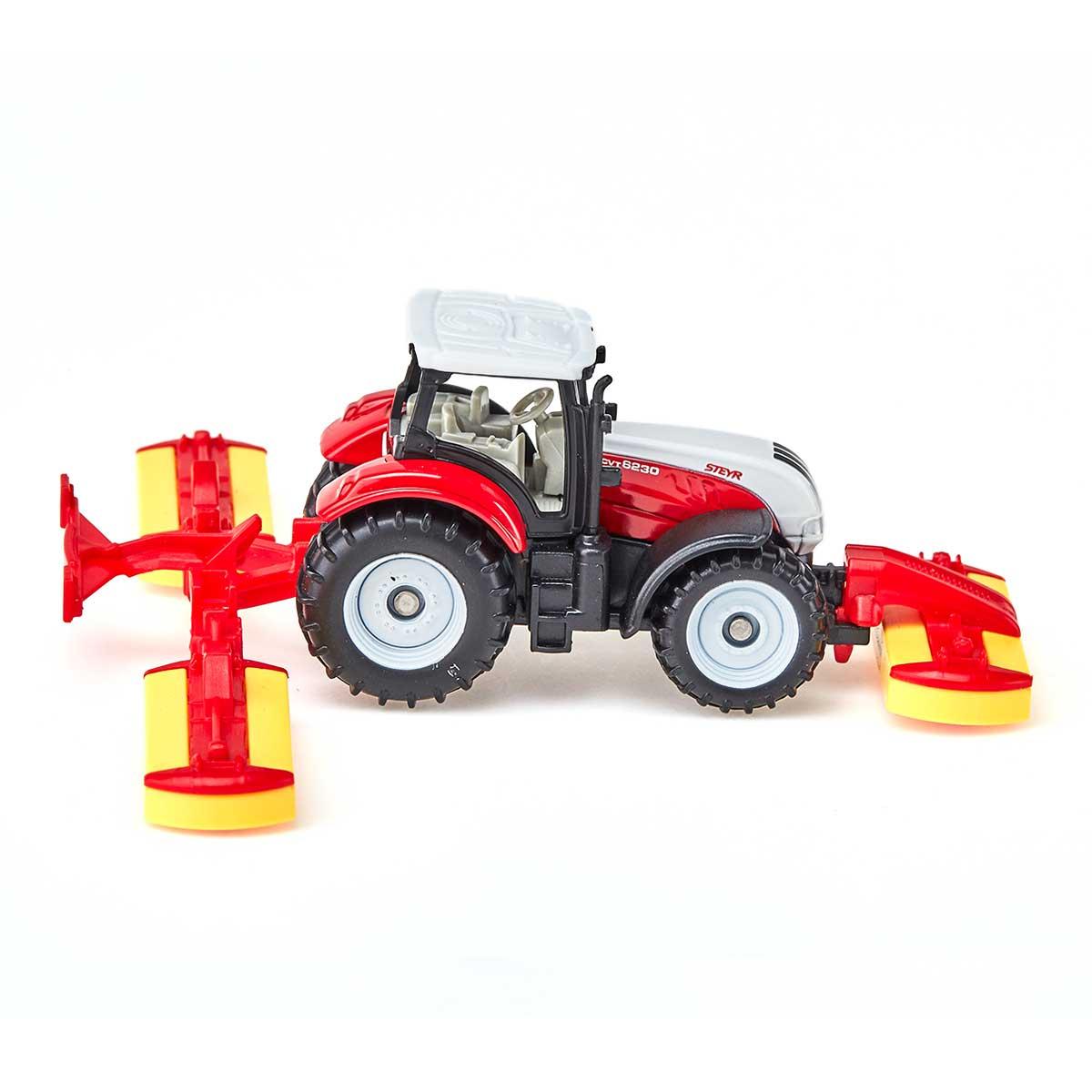 Steyrトラクター ポッティンジャー収穫機付き(ジク・SIKU)