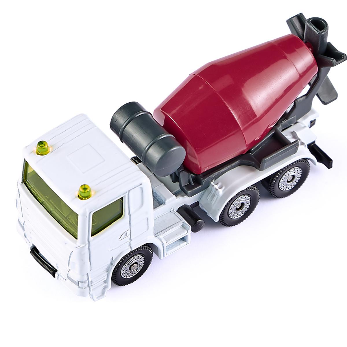 ミキサー車&ダンプカーセット