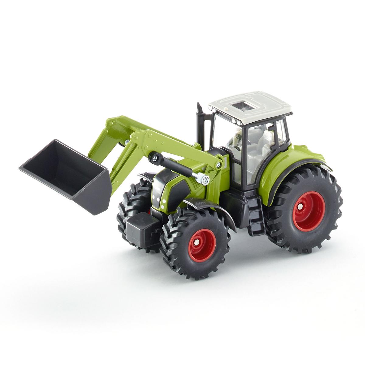 Claas フロントローダー付き トラクター 1:50(ジク・SIKU)