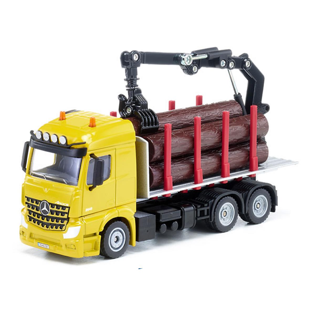 木材運搬トレーラー 1:50(ジク・SIKU)