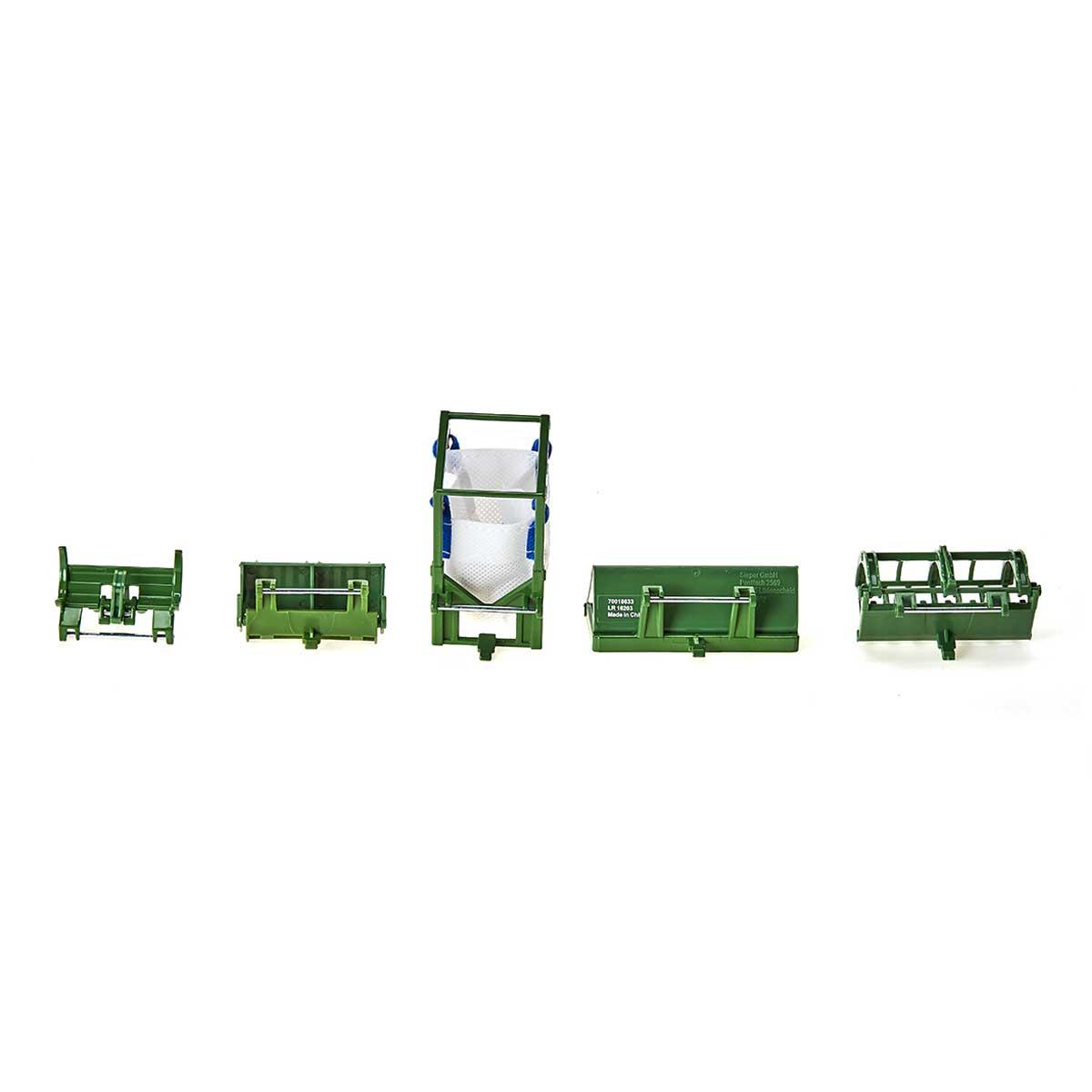 パーツ フロントローダー アクセサリーセット5種 1:32(ジク・SIKU)