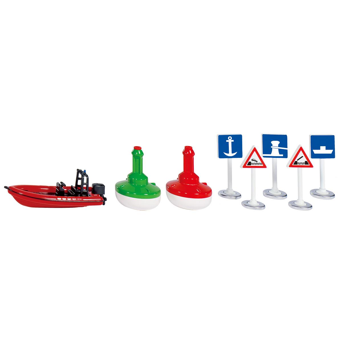 SIKU WORLD用アクセサリー 水上ボートセット(ジク・SIKU)