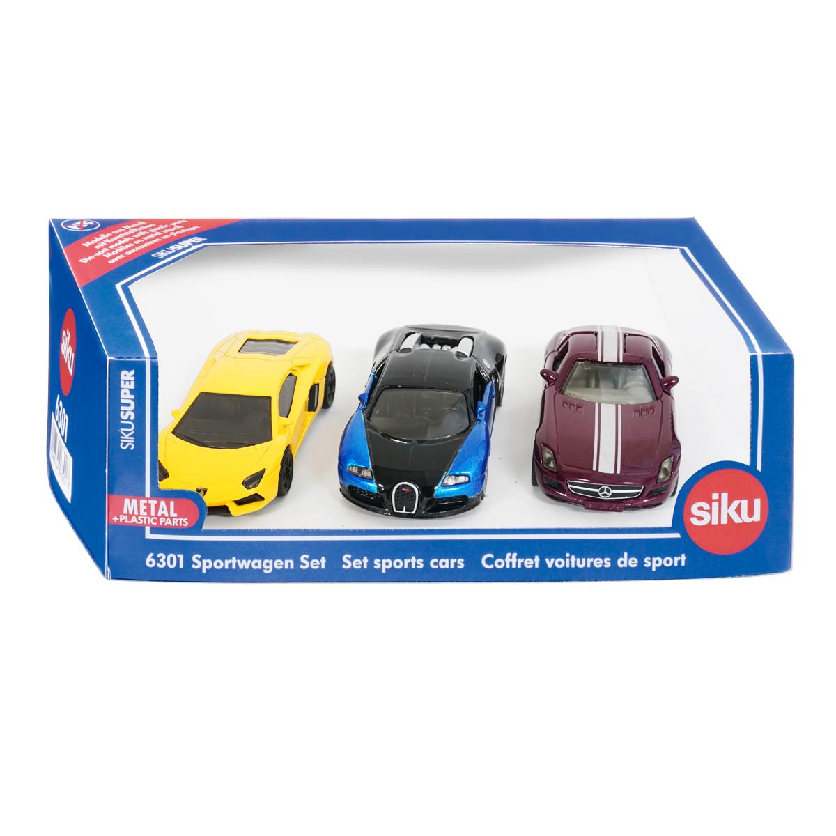 ギフトセット スポーツカー(ジク・SIKU)