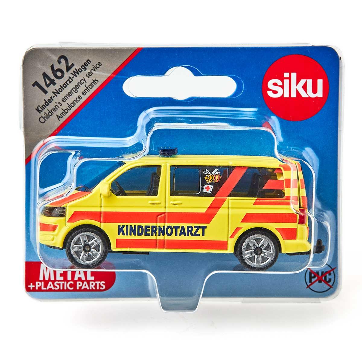Blister SUPER SIKU 1462 - Kinder-Notarzt-Wagen