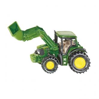 【在庫限り】ジョンディア トラクター フロントローダー付き(ジク・SIKU)