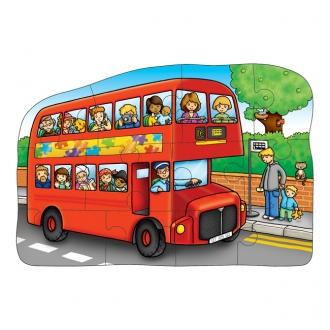 リバーシブルパズル 二階建てバス