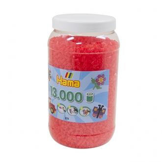 ハマビーズ ボトル 13000pcs ケイコウクリアローズ
