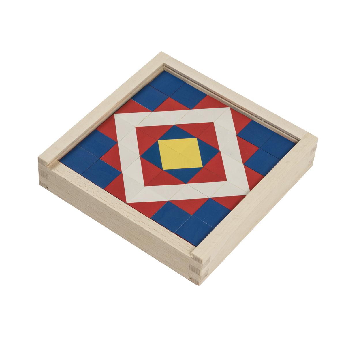 キュービックパズル モザイクホワイト 36ピース