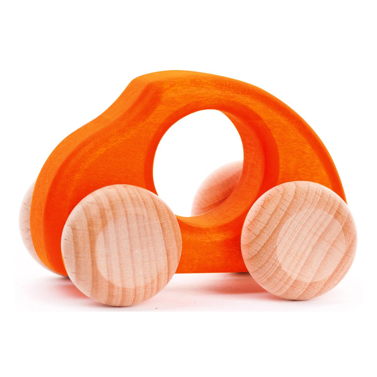木のビートル(オレンジ)