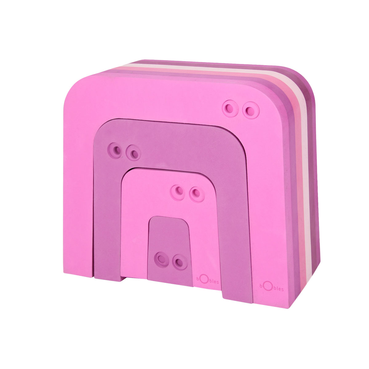 【在庫限り・仕様変更予定】ボブルス アリクイ4個セット ピンク