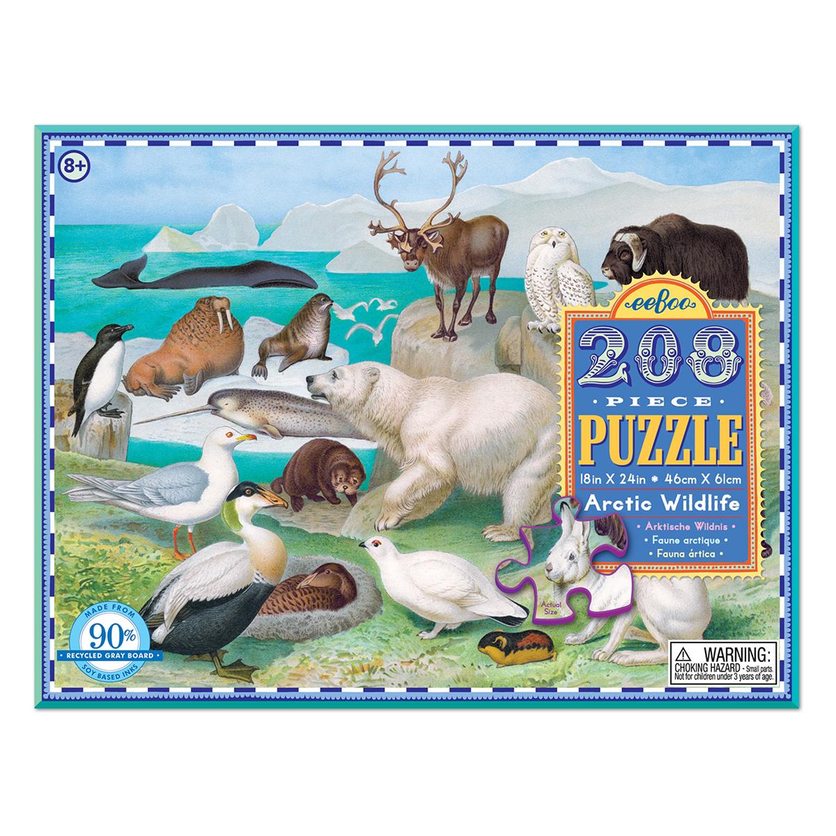 【入荷予定なし】208ピース 北極の動物たち