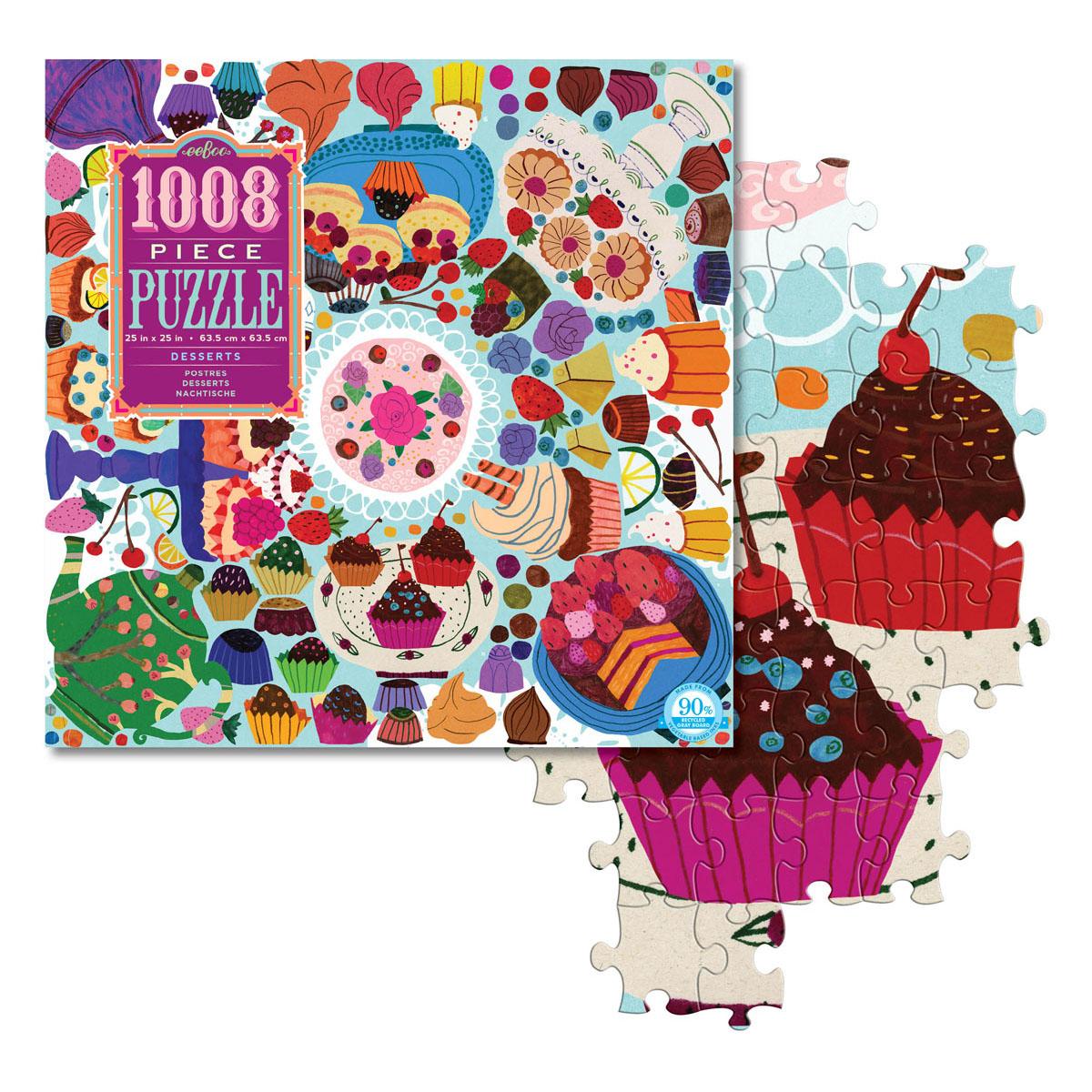 1008ピース・ファミリーパズル ニューヨークのパティスリー