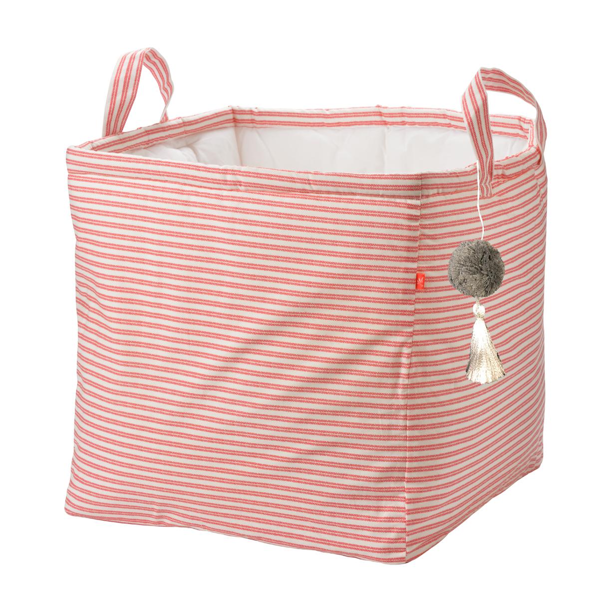 【35%OFF】コットンランドリーバッグ ピンクフラミンゴ