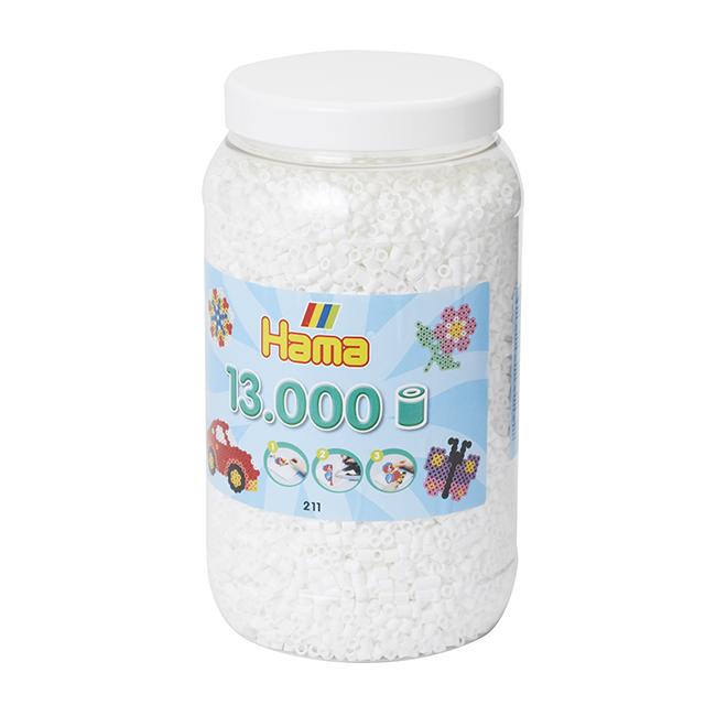 ハマビーズ ボトル 13000pcs ホワイト