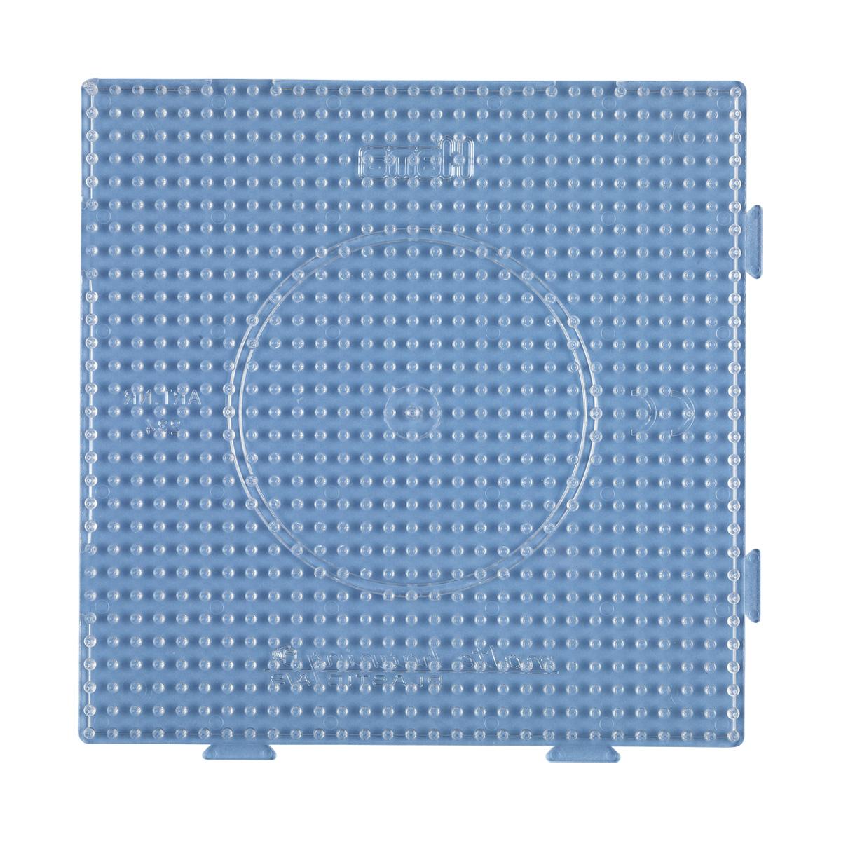 ハマビーズ ボードLツナガル正方形(透明)