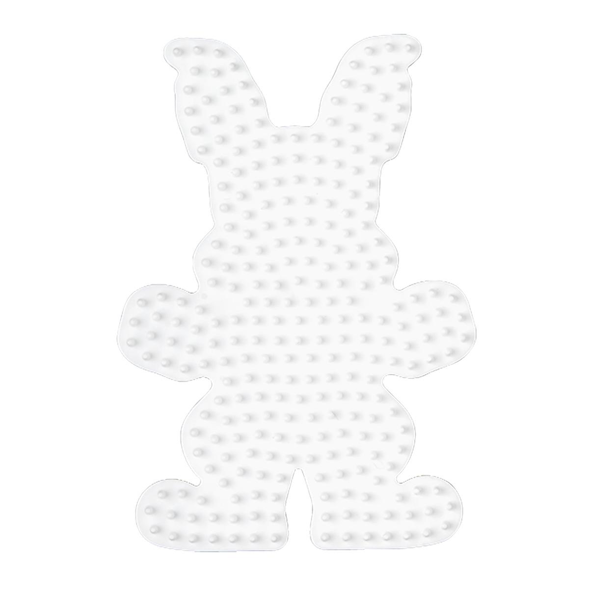 ハマビーズ ボード ウサギ(白)