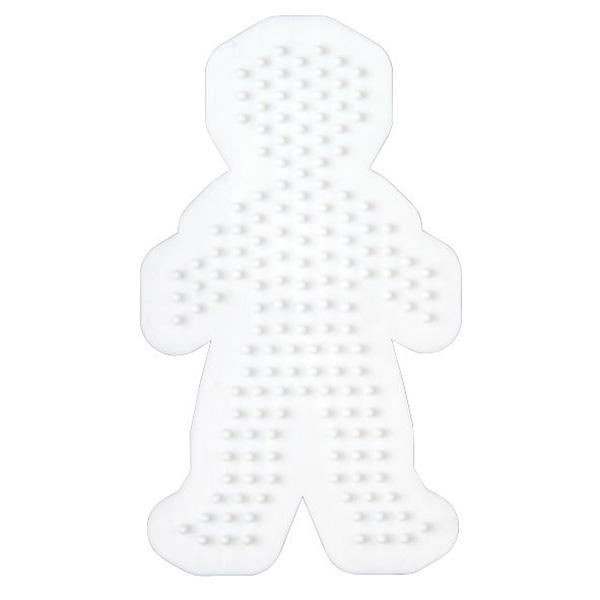 ハマビーズ ボード 男の子(白)