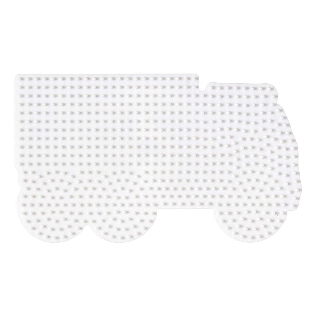 ハマビーズ ボード トラック(白)