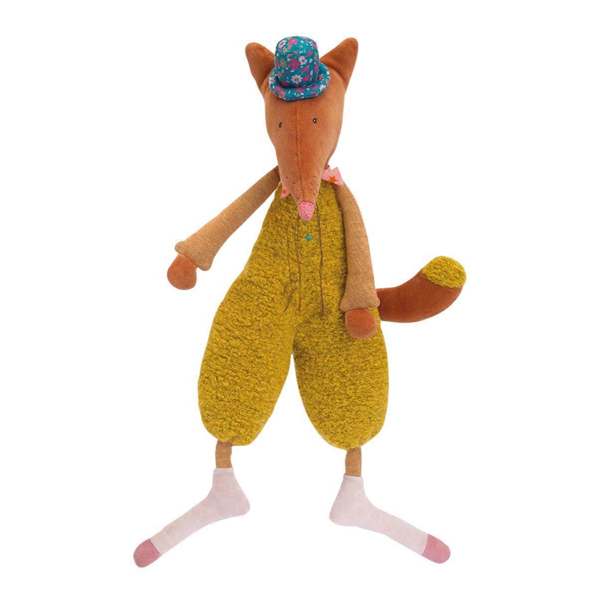 【23%OFF】「タルタンポア」抱き人形・きつねのデデ
