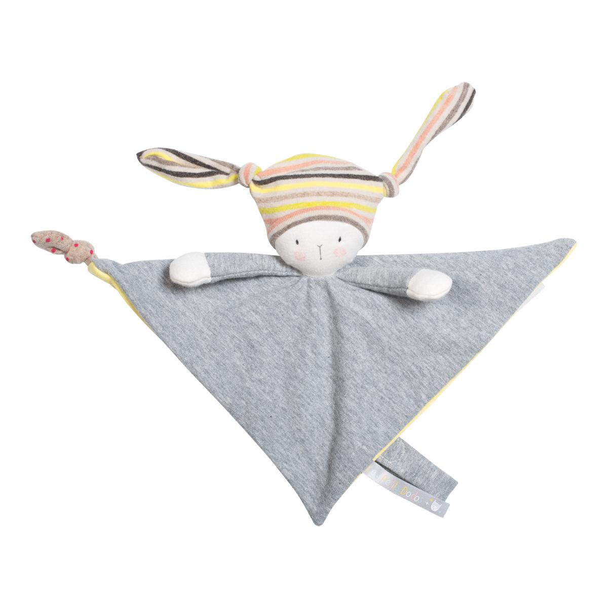 「プティ・ドゥードゥー」おしゃぶりタオル しましま帽子の妖精