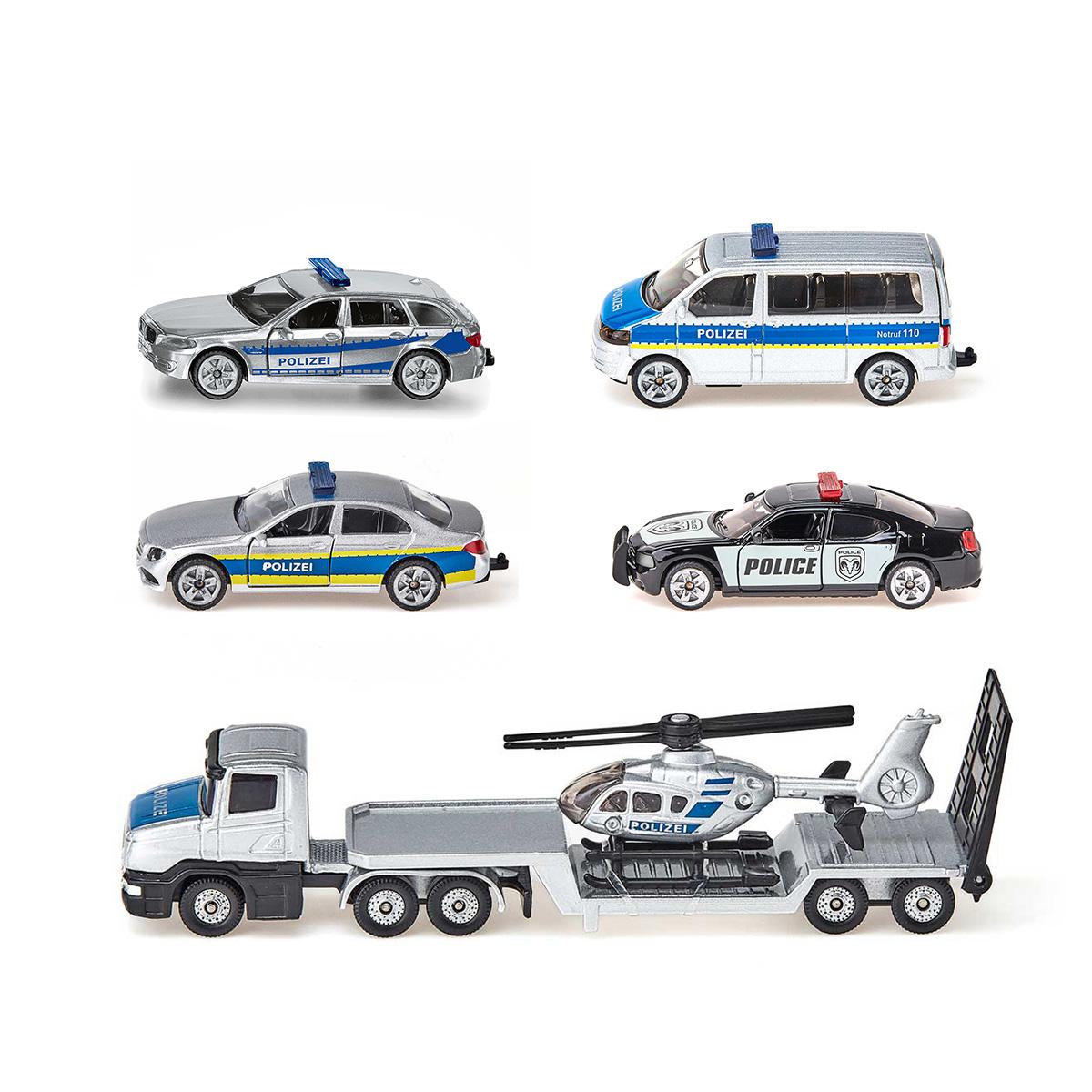 警察車両セット(ジク・SIKU)