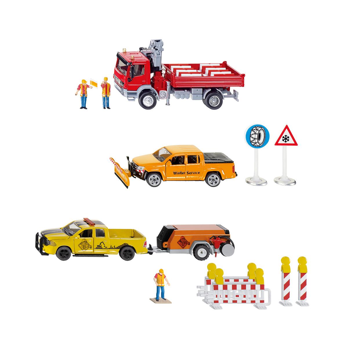 工事車両セットL(ジク・SIKU)