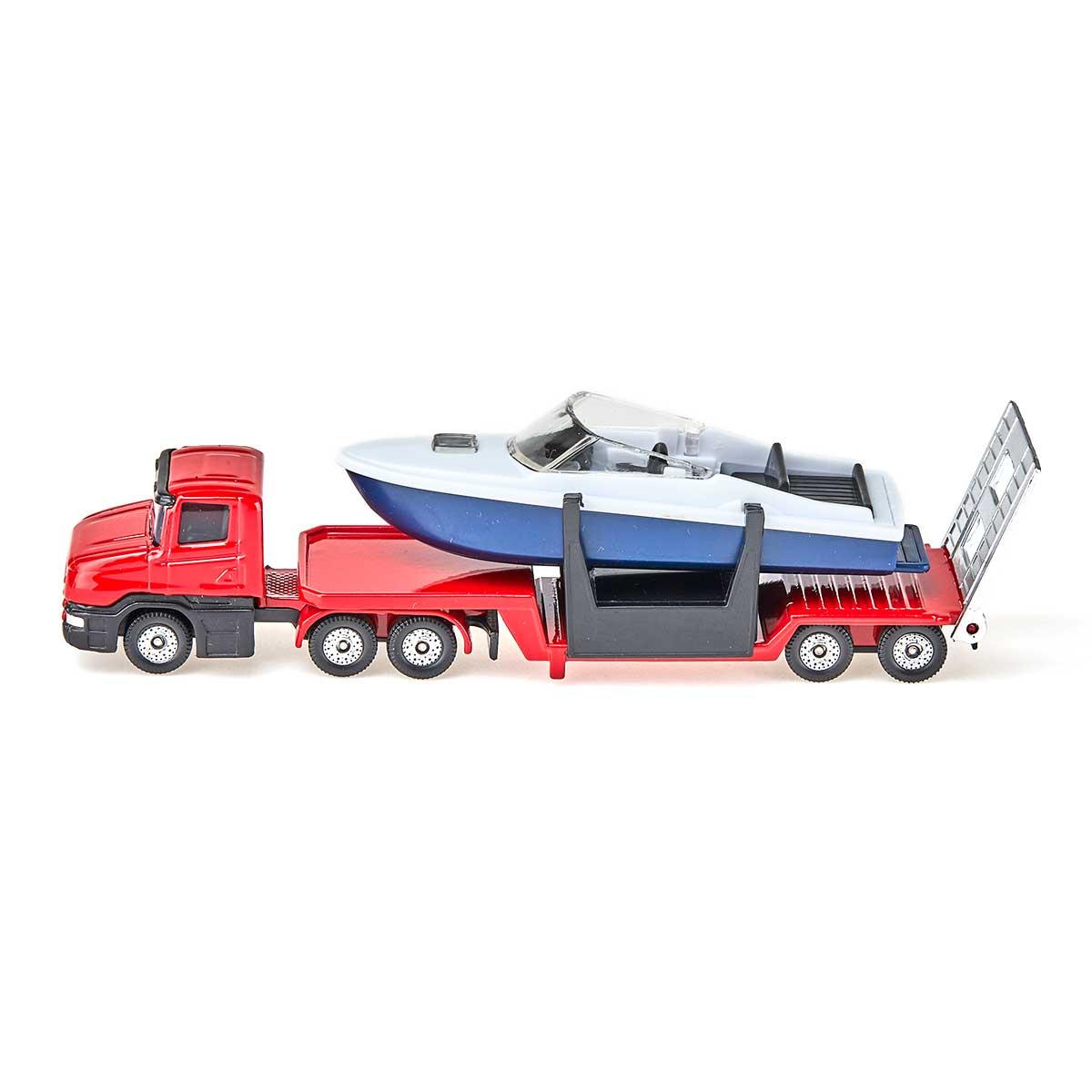 モーターボート輸送トレーラー(ジク・SIKU)