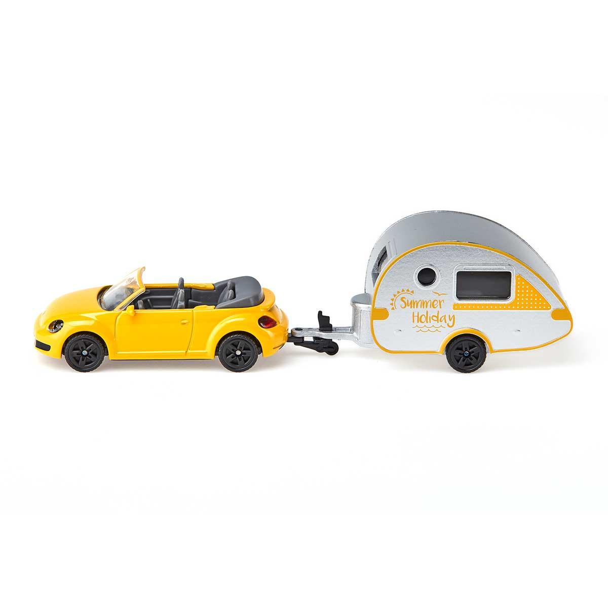 VW ニュービートル キャラバン付き (ジク・SIKU)