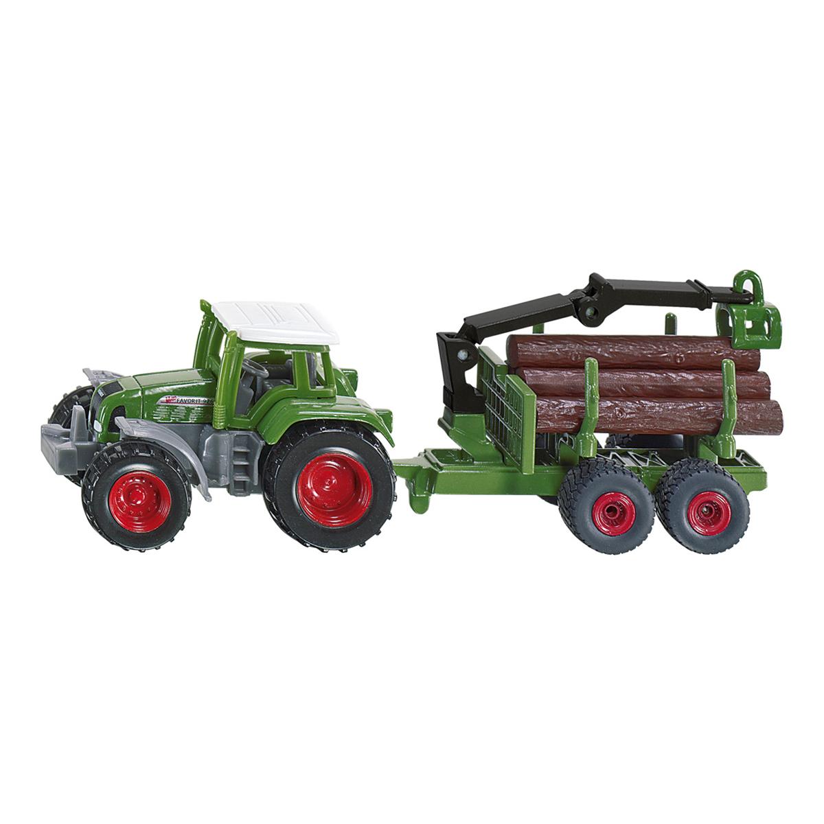 トラクター 木材運搬トレーラー付(ジク・SIKU)