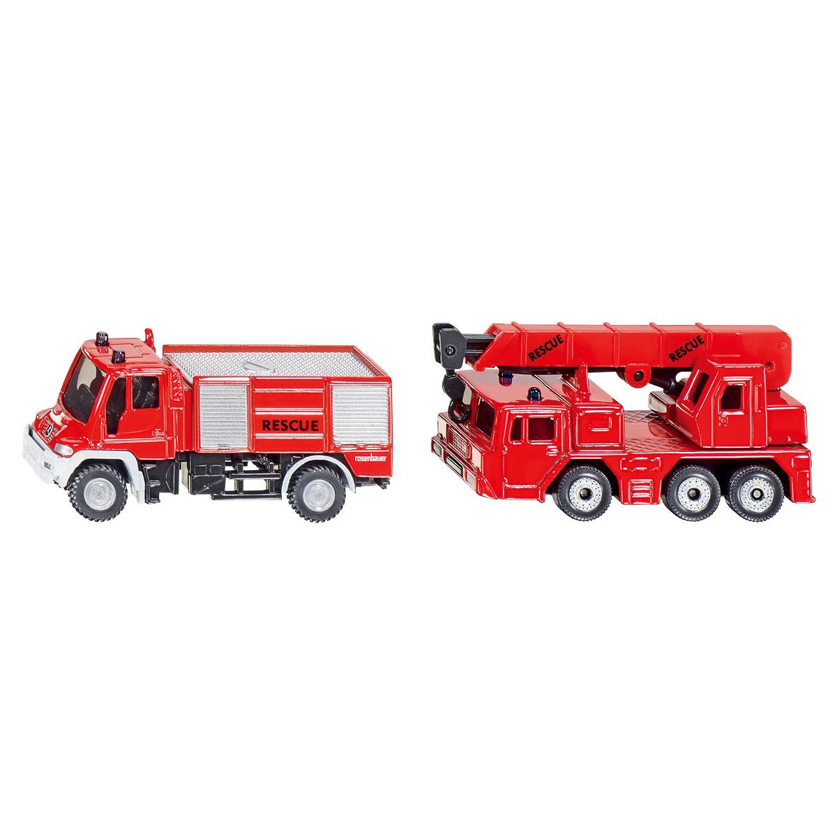 ユニモグ消防車&クレーン車(ジク・SIKU)