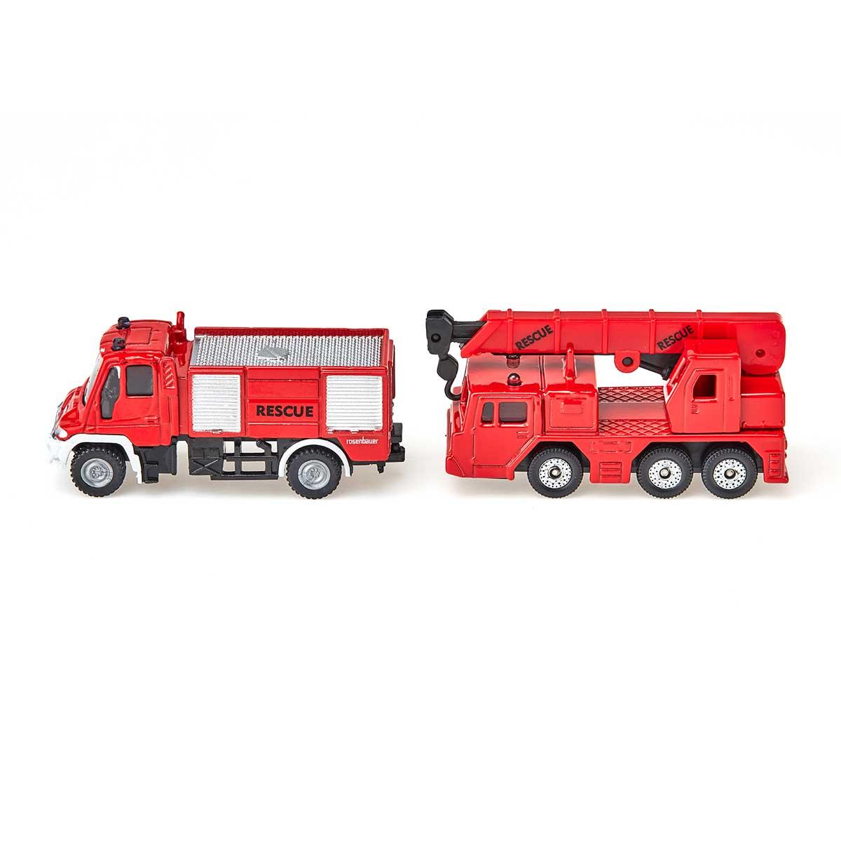 ウニモグ 消防車&クレーン車(ジク・SIKU)