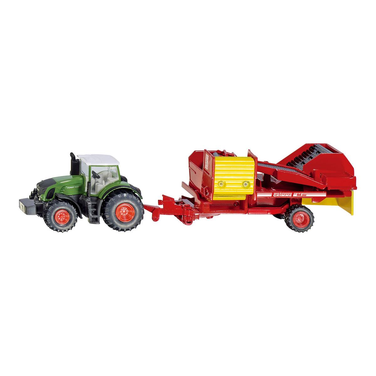 【在庫限り】Fendt トラクター じゃがいも収穫機付き 1:87(ジク・SIKU)
