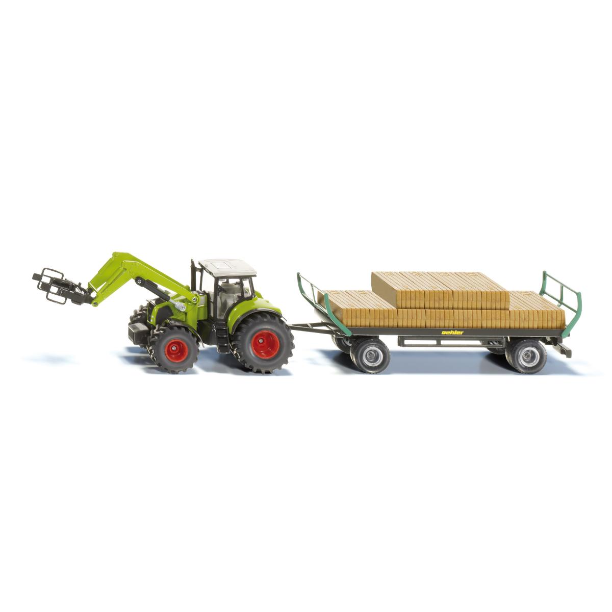 Claas トラクター ベールグリッパー付き1:50(ジク・SIKU)