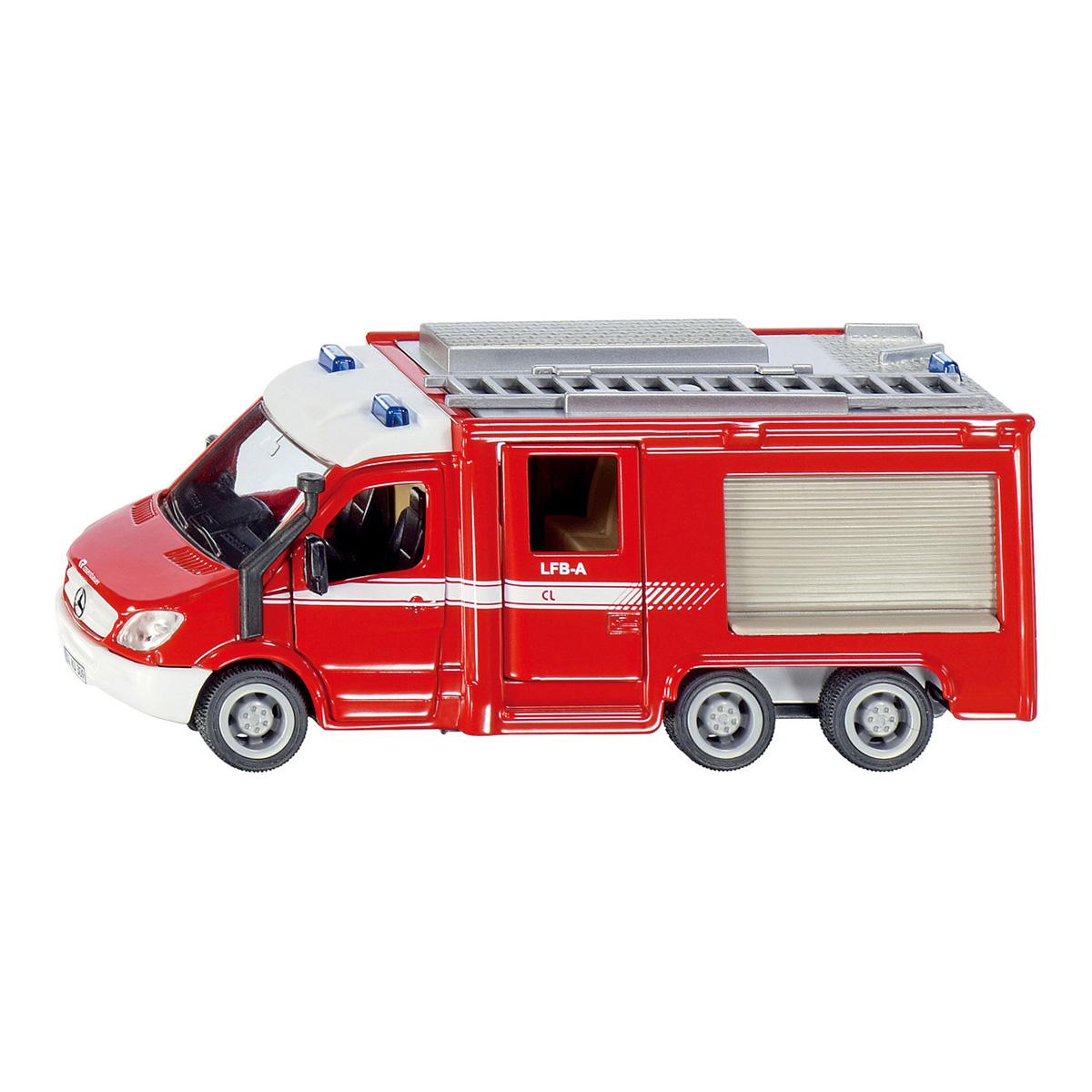 メルセデス・ベンツ スプリンター 消防車 1/50(ジク・SIKU)