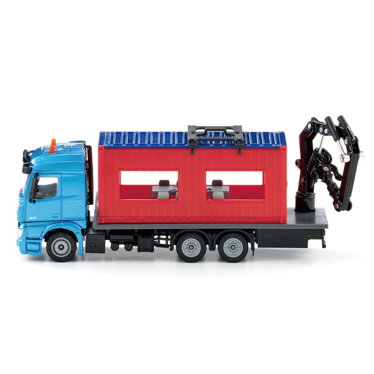 コンテナ付きトラック 1:50(ジク・SIKU)