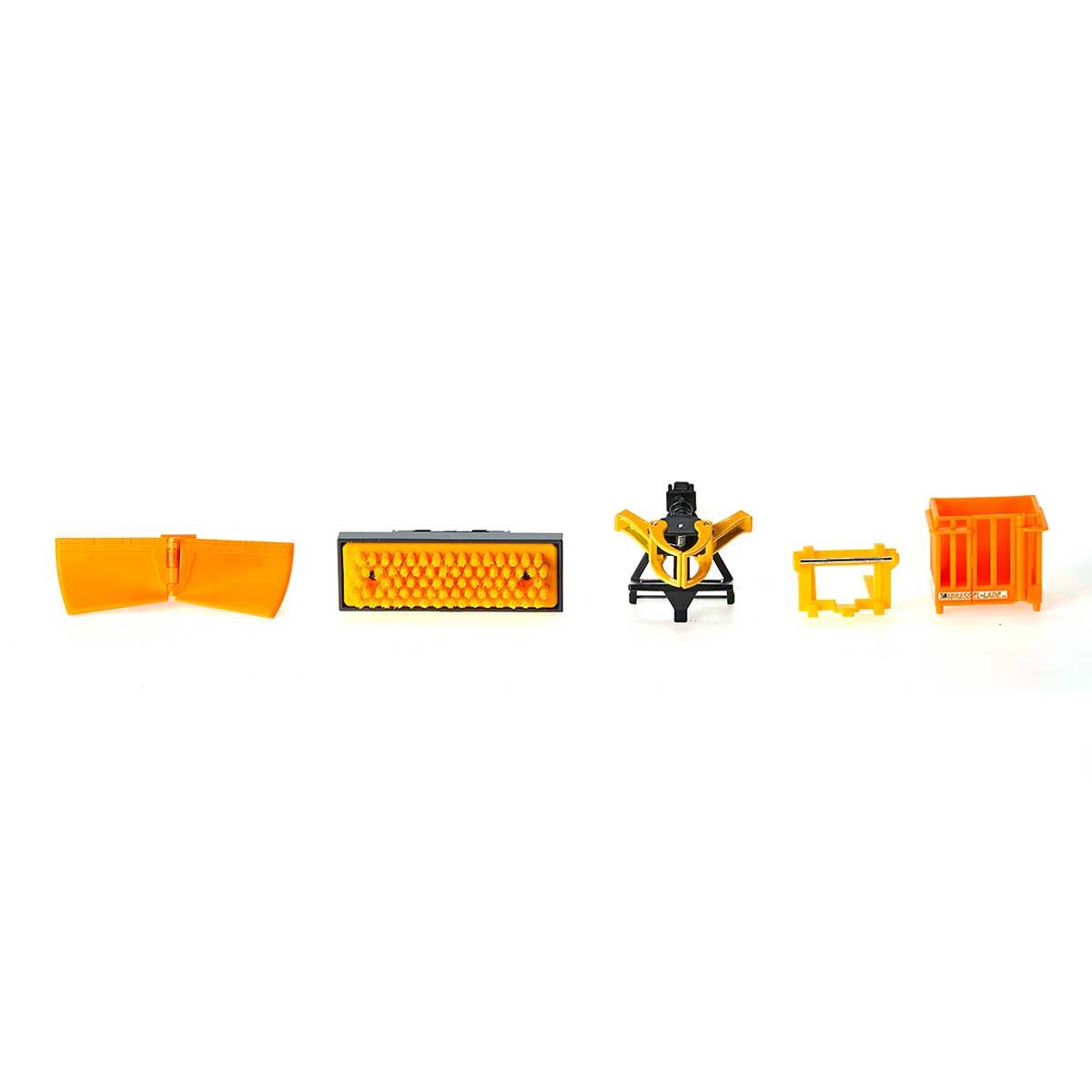 フロントローダー アクセサリーセット4種 1:32 (ジク・SIKU)