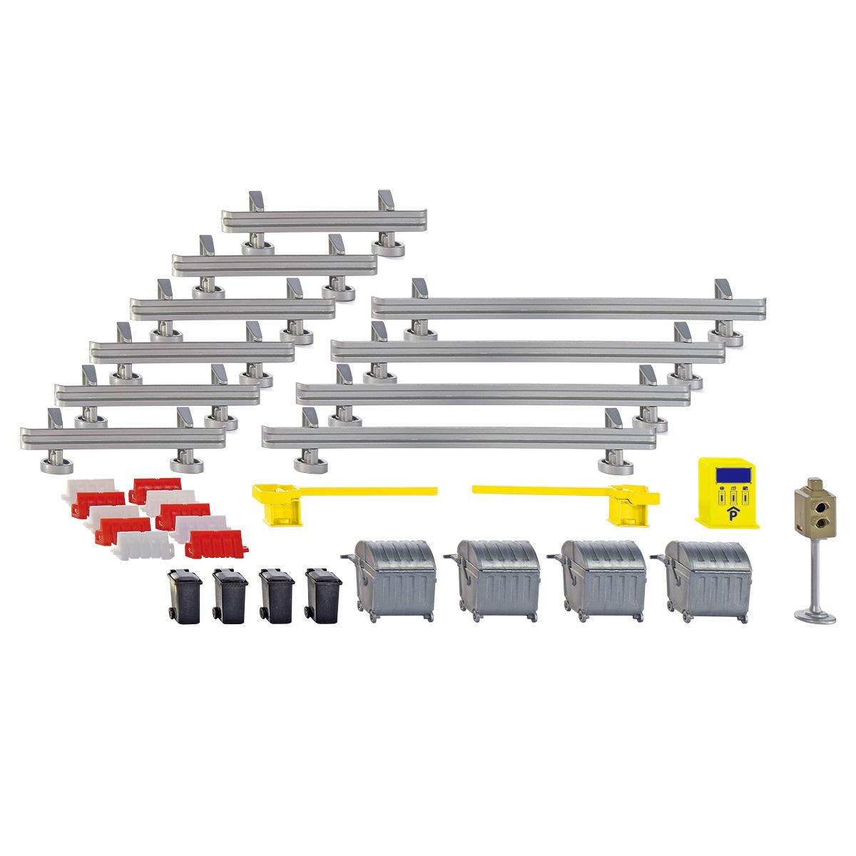 SIKU WORLD用アクセサリー 駐車場セット (ジク・SIKU)