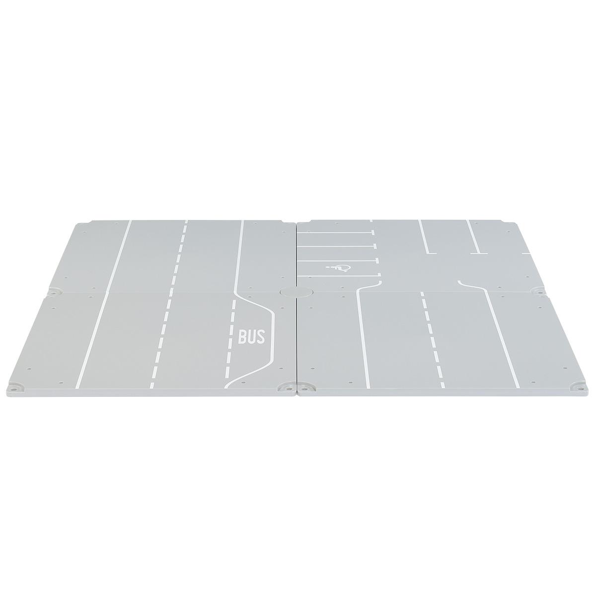 SIKU WORLD用アクセサリー パネル4枚セット(直線 駐車場) (ジク・SIKU)