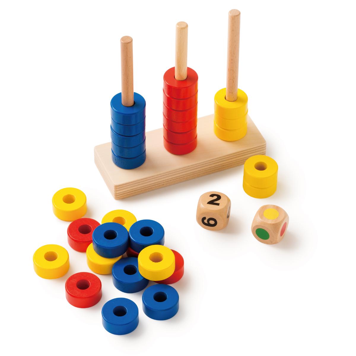 「Toys for Life」社の遊具で数を学ぼう!