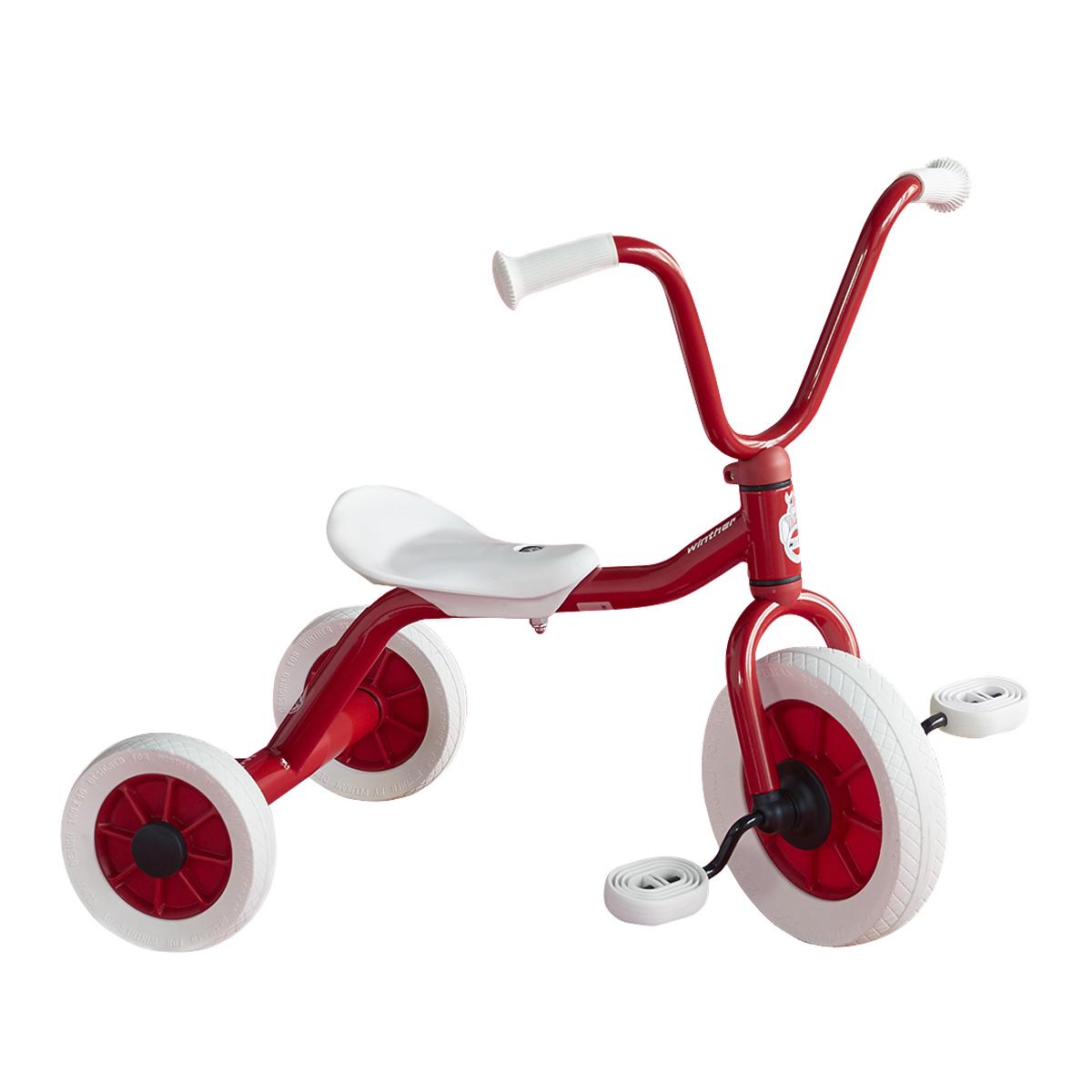 ペリカンデザイン三輪車 Vハンドル 赤