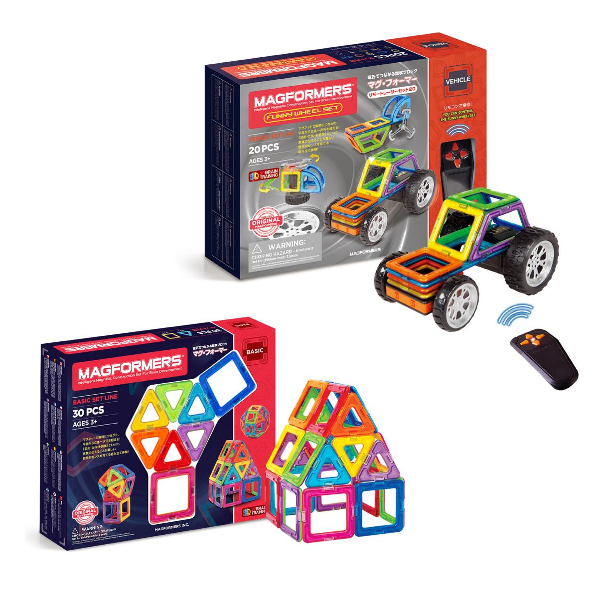 人気の磁石遊びの発展セット