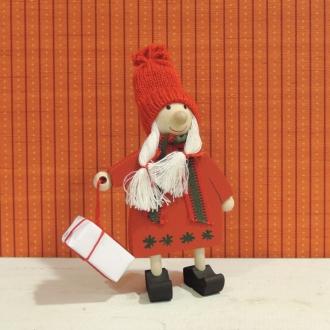 リトルクリスマス人形 プレゼントを持つ女の子
