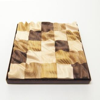 木製パズル ウエーブ・チェッカー(小)