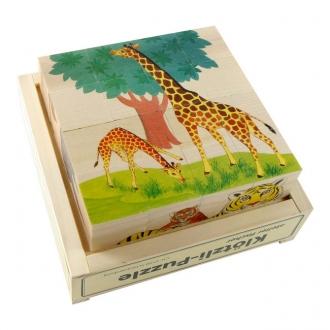 キューブパズル 16ピース動物