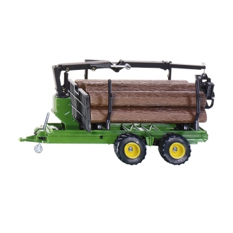 【在庫限り】ファーマー 材木運搬トレーラー 1:32(ジク・SIKU)