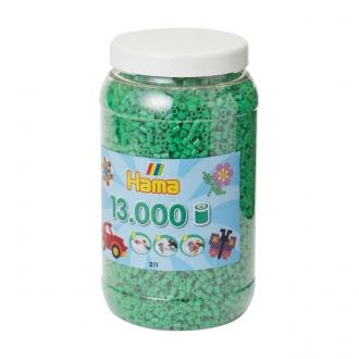 ハマビーズ ボトル 13000pcs エメラルドグリーン