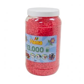 ハマビーズ ボトル 13000pcs ケイコウピンク